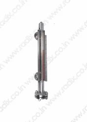 Magnetic Level Gauge For Corrosive And Viscous Liquids MLG201