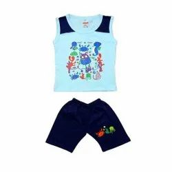 Sleeveless Top Pant Set For Baby Boys