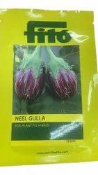 F1 Hybrid Neel Gulla Egg Plant Seed, Packaging Type: Packet, Packaging Size: 1500 Seeds