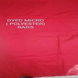 Dyed Micro Polyester Rags