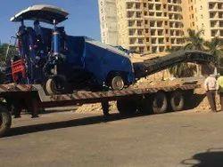 Asphalt Milling Machine Transportation Service