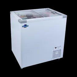 Rockwell SFR250GT Flat Glass Top Freezer, 236L