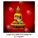 Golden Buddha God Statue