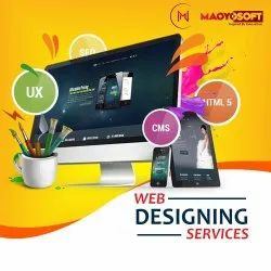Dynamic Web Designing Services, With Online Support