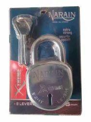 With Key Normal 40mm Iron Padlock, Chrome
