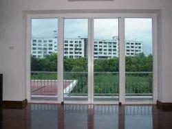 Innavative Pristine White Upvc Sliding Doors, For Home, Interior
