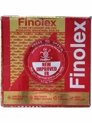 Finolex 6sqmm Flame Retardant PVC Insulated Industrial Cable, 90m