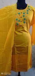 RK Chanderi Designer Unstitched Suits