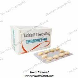 Tadasoft 40mg Tablets