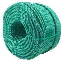 Green PP Rope, For Industrial