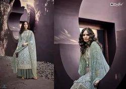 Zulfat Summer Queen Pure Cotton Designer Dress Material Collection