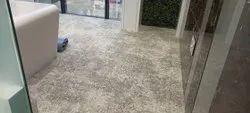green Nylon Wall To Wall Carpet