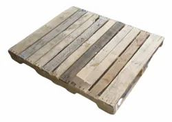 Rectangular 2 Way Industrial Jungle Wood Pallet, For Shipping, Capacity: 1 Ton
