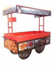 Mild Steel Outdoor Food Cart