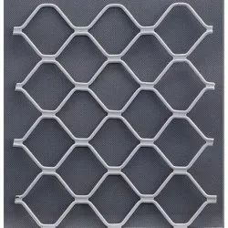 Silver Aluminium Grill, For Residential