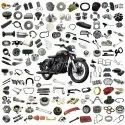 Seat & Saddle Bag Assembly Spare Parts For Royal Enfield Standard, Bullet, Electra, Machismo