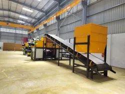 Industrial Rubber Belt Conveyor