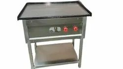 Stainless Steel Color Coated SS Cooking Range, For Hotel