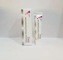 Hydroquinone2% W/w+ Tretinoin 0.25% W/w+ Fluocinolone Acetonide 0.01% W/w Cream