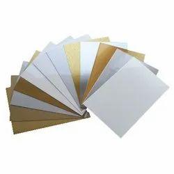 Metal Sheet - Gold-Silver-White