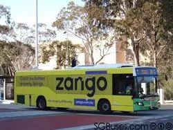 Offline Banner Bus Advertising Service, For Promoting Product And Services, in Delhi/Ncr