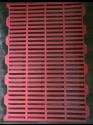 Plastic Slatted Flooring Used For Pig Farm , Goat Farm, Thickness: 40 mm