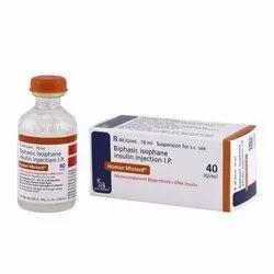 Liquid Allopathic Human Mixtard 40 Injection, For Clinical, Novo Nordex