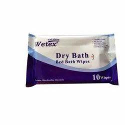 DRY  BATH WIPES