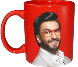 Printed Ceramic Coffee Mug, Capacity: 350ml, Size/Dimension: 110Z