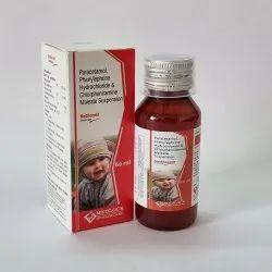 Paracetamol 125mg Phenylephrine2.5mg Chlorpheniramine
