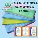 Reusable Or Washable Kitchen Towel Non Woven Fabric By Anmolfabtex