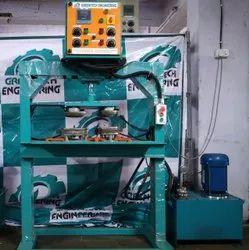 Hydraulic 4 Die Paper Dish Making Machine
