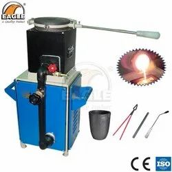 Eagle Jewellery Melting Furnace Air Gas Powered Furnace Table Model for Goldsmith