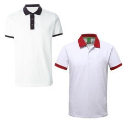 T-Shirt Collar Black Red