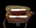 Vintage Leather Saddle Bag