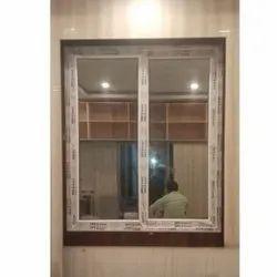 UPVC Glass Sliding Balcony Window