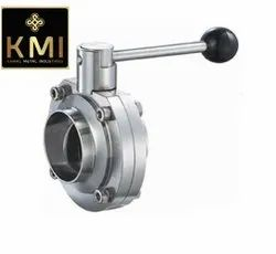 SS Weldable Butterfly Valves