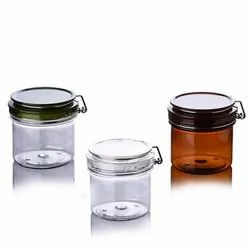 Round Shape Body Lotion Cream Container Packaging Scrub Jars