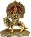 Gold Plated Durga Ji Idol For Home Decoration & Corporate Gift