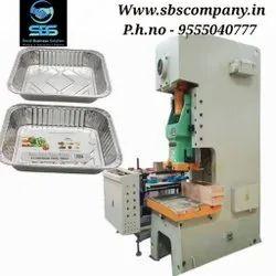 Aluminium Foil Container Making Machine Single Cavity, Three Phase