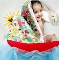 Cotton Printed Born Baby Towel