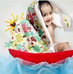 Vandana Handicraft Multicolor Cotton Printed Born Baby Towel Supplier