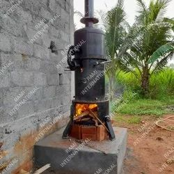 Cashew Boiler With Steam Cooker
