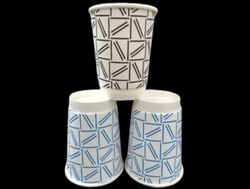 250ml Printed Paper Glass