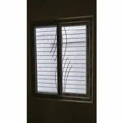 UPVC Sliding Grill Window