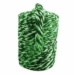 Green Cotton Mop Yarn