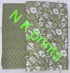 Pure cotton printed Camrik fabrics for kurti fast colour