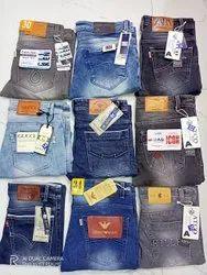 Denim Regular Fit Men Jeans Wholesale, Waist Size: 28 to 34