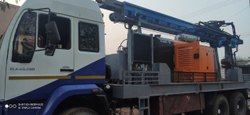 DTH 300 Man Truck Mounted Water well Drilling Rig