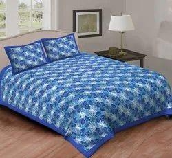 Jaipuri  Cotton Bedsheet